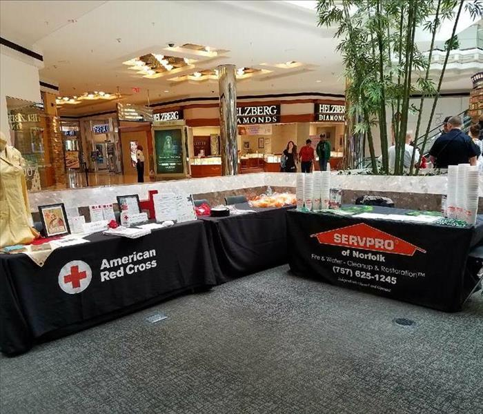 SERVPRO Portsmouth with The Coastal American Red Cross